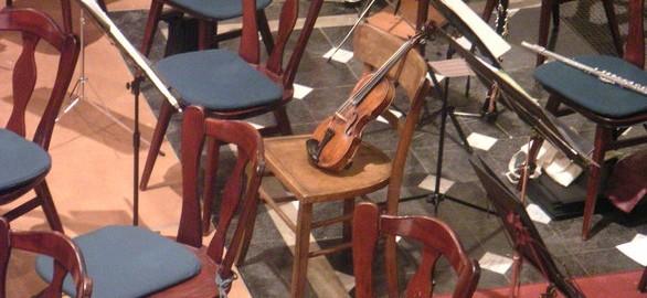 violin en orquesta