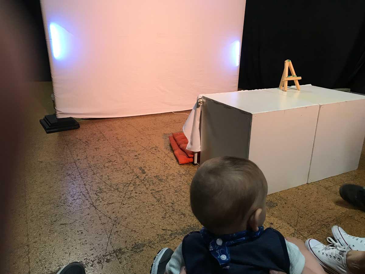 Ratoncito y los colores, teatro para bebes