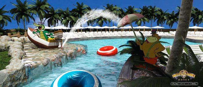Mam 225 Tiene Un Plan Parque Warner Beach Parques De Atracciones Con Ni 241 Os